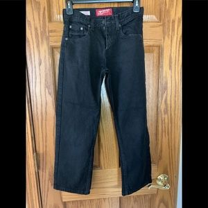 Arizona black jeans adjustable  relaxed straight